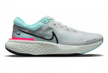 Zapatillas Nike ZoomX Invincible Run Flyknit para Hombre Gris / Azul