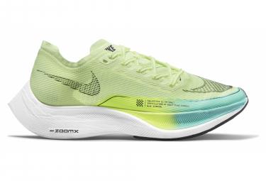 Chaussures de Running Femme Nike ZoomX Vaporfly Next% 2 Jaune / Bleu