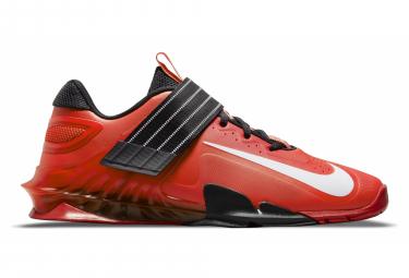 Chaussures d'Halterophilie Nike Savaleos Blanc Rouge
