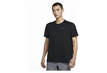Maillot Manches Courtes Nike Pro Dri-Fit Noir Unisex
