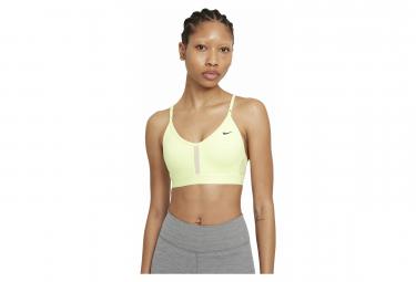 Sujetador deportivo Nike Dri-Fit Indy Yellow para mujer