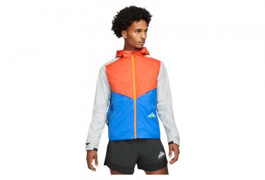 Veste Coupe-Vent Nike Windrunner Trail Orange / Bleu