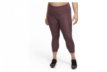 Collant 3/4 Nike Fast Rouge Femme