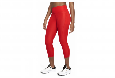 Collant 3/4 Nike Fast Orange Femme