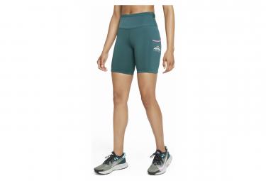 Cuissard Femme Nike Epic Luxe Trail Vert