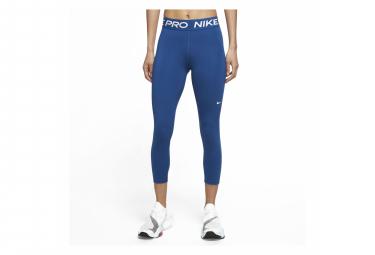 Collant 7/8 Nike Pro 365 Bleu Femme