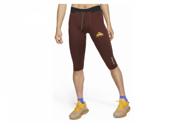 Collant 3/4 Nike Dri-Fit Trail Rouge