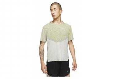 Maillot Nike Dri-Fit Run Division Techknit Jaune
