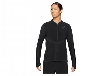 Veste avec Zip Nike Dri-Fit Element Run Division Noir
