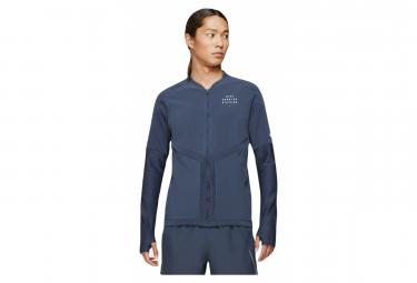 Veste avec Zip Nike Dri-Fit Element Run Division Bleu