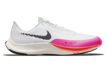 Zapatillas Nike Air Zoom Rival Fly 3 Rawdacious para Hombre Blanco / Rosa