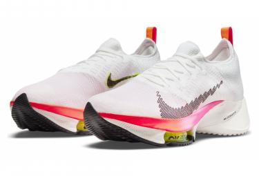 Zapatillas Nike Air Zoom Tempo NEXT% Rawdacious para Hombre Blanco / Rosa