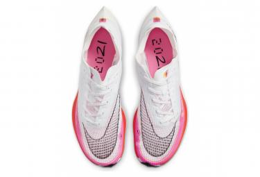 Chaussures de Running Nike ZoomX Vaporfly Next% 2 Rawdacious Blanc / Rose
