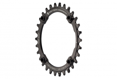 Wolf Tooth 104 BCD (Threaded) Chainring Drop-Stop A Black