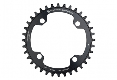 Wolf Tooth 104 BCD Chainring Drop-Stop A Black