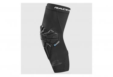 FLEXAIR Racer Gloves Knee Guards Black
