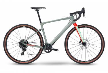 Gravel Bike BMC URS One (Var 1) Sram Apex 11V Gris / Rouge