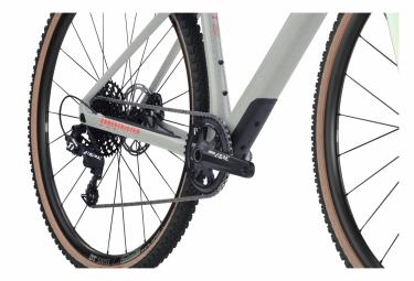 BMC URS One (Var 1) Gravelbike Sram Apex 1 11F 700 mm Grau Rot 2022