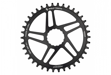 Wolf Tooth Direct Mount Chainring for Easton/Race Face Cinch Drop-Stop B Black