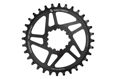 Wolf Tooth Direct Mount Chainring for Sram Boost 3 mm Drop-Stop A Black