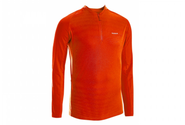 Maillot Manches Longues Triban Essentiel Rouge