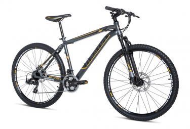 Moma Bikes Vélo VTT, GTT27,5 - 5. 0, Aluminium, SHIMANO 24V, Freins a Disque, Suspension Avant