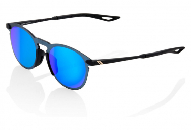 100% Legere Round Soft Tact Nero / Lente Blu