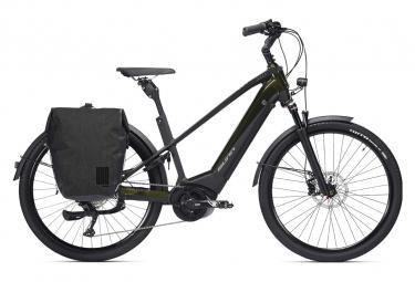 Vélo de Ville Électrique Sunn Urb Skal Shimano Deore 10V 500 Noir / Kaki 2021