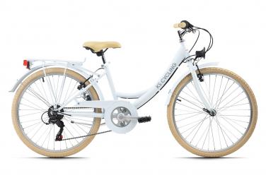 Vélo enfant 24'' Balloon Blanc TC 36 cm KS Cycling
