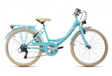Vélo enfant 24'' Balloon Bleu TC 36 cm KS Cycling
