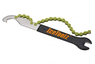 IceToolZ Attrezzo per catena + Chiave per pedali