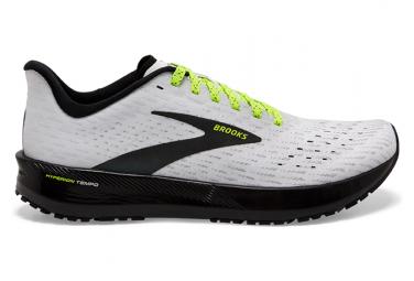 Brooks Hyperion Tempo Run Visible Laufschuhe Weiß Gelb Schwarz