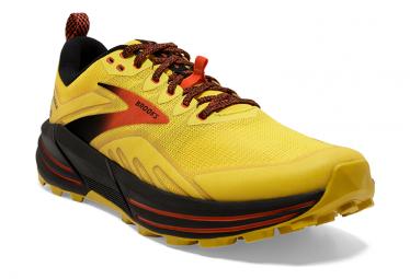 Chaussures de Trail Brooks Running Cascadia 16 Jaune / Noir