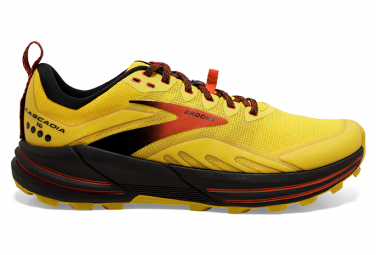 Zapatillas Brooks Running Cascadia 16 para Hombre Amarillo / Negro