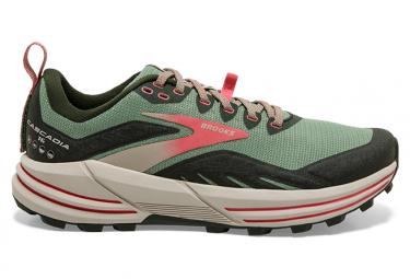 Chaussures de Trail Femme Brooks Running Cascadia 16 Gris / Rose