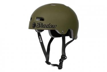The Shadow Conspiracy BMX Classic Bolt Helmet Green Army