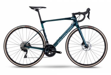 Vélo de Route BMC Roadmachine Seven Shimano 105 11V 700 mm Bleu Petrol 2022