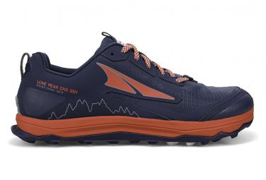 Chaussures de Trail Femme Altra Lone Peak 5 Chamonix Bleu / Rouge