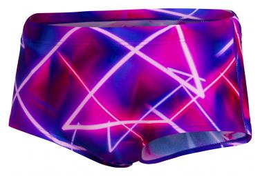 Speedo Swimsuit Club Training Allover 17 cm Purple