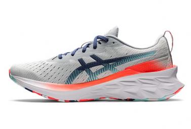 Chaussures de Running Asics Novablast 2 Gris / Bleu