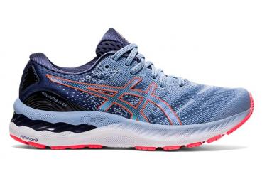 Chaussures de Running Femme Asics Gel Nimbus 23 Bleu / Rose