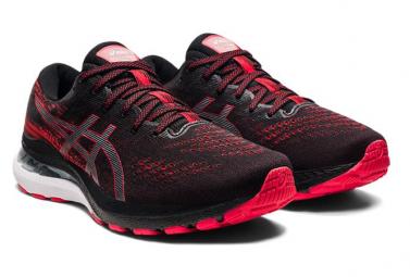 Chaussures de Running Asics Gel Kayano 28 Noir / Rouge