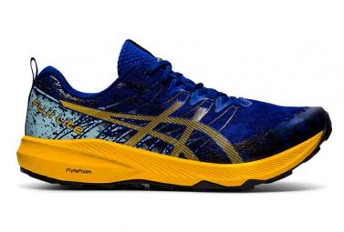 Scarpe da trail Asics Fuji Lite 2 blu giallo