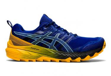 Chaussures de Trail Asics Gel Trabuco 9 Bleu / Jaune