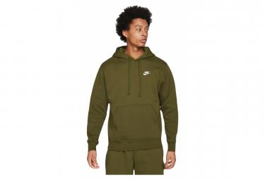 Sweat à capuche Nike Sportswear Club Vert / Blanc