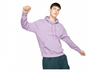 Sweat à capucheNike Sportswear Club Fleece Violet / Blanc
