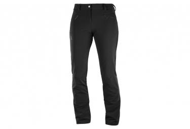 Pantalon Thermique Femme Salomon Wayfarer Warm Noir