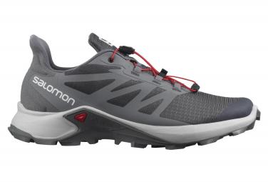 Chaussures de Trail Salomon Supercross 3 Gris