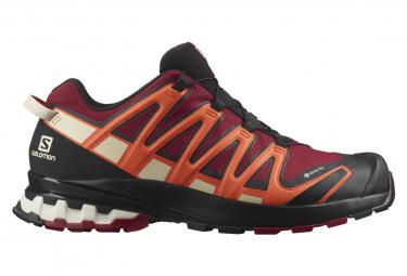 Chaussures de Trail Salomon Xa Pro 3D V8 GTX Rouge / Orange