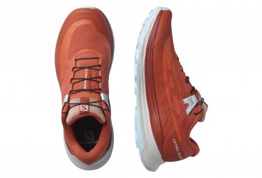 Chaussures de Trail Femme Salomon Ultra Glide Rouge